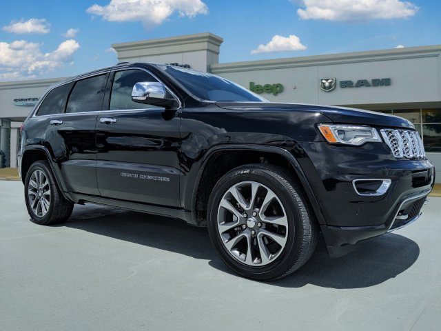 Jeep Grand Cherokee Overland >> Certified Pre Owned 2018 Jeep Grand Cherokee Overland Rwd 4d Sport Utility