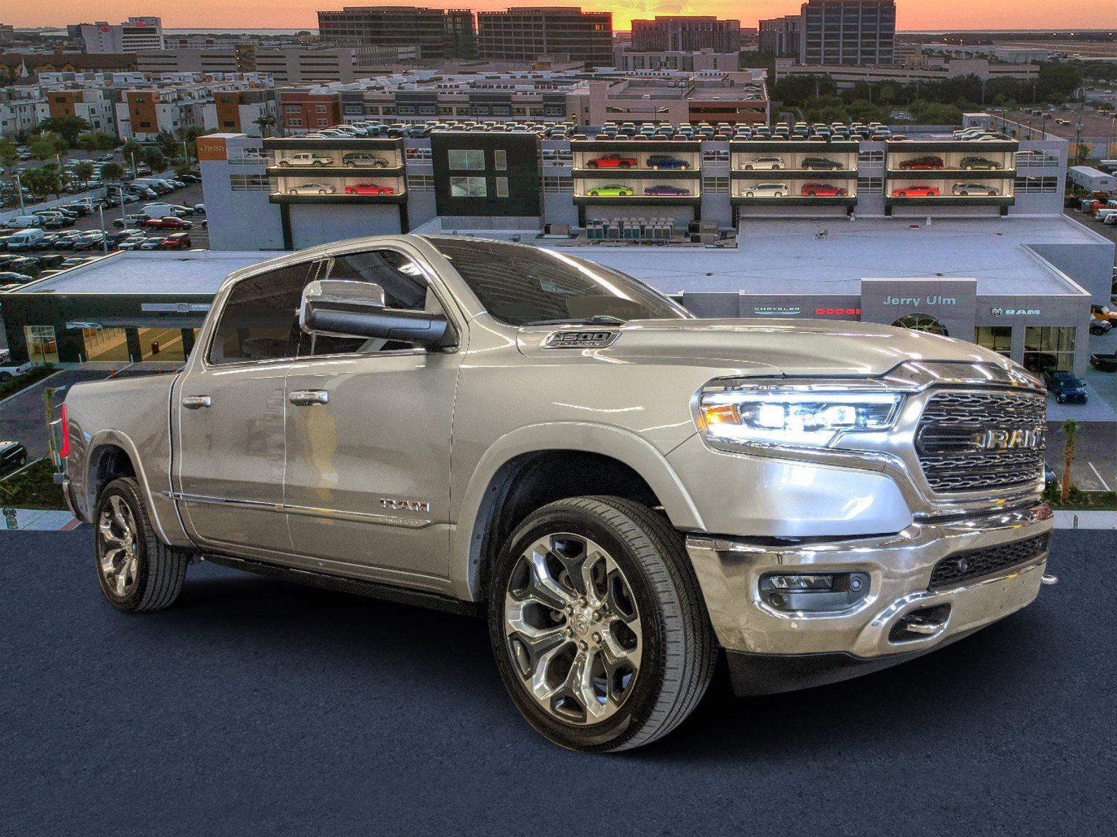 Certified Pre Owned 2019 Ram 1500 Limited 4d Crew Cab In Tampa