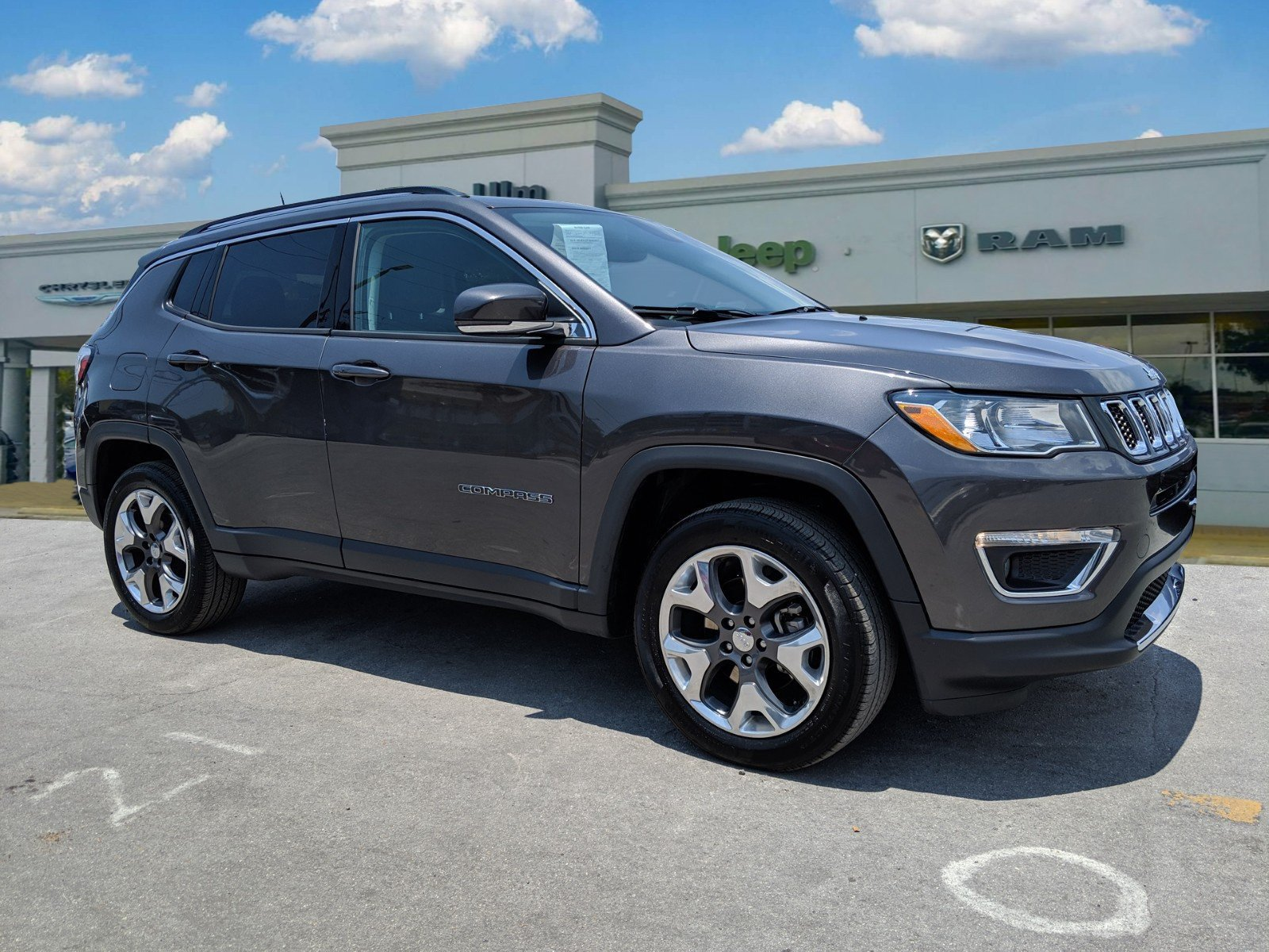 Jeep Certified Pre-Owned >> Certified Pre Owned 2019 Jeep Compass Limited 4d Sport Utility In