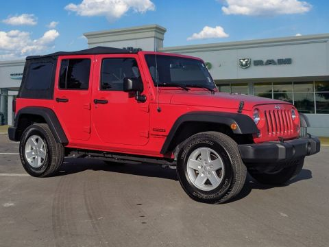 Certified Pre-Owned 2018 Jeep Wrangler JK Unlimited Sport