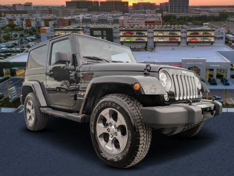Certified Pre-Owned 2018 Jeep Wrangler JK Sahara