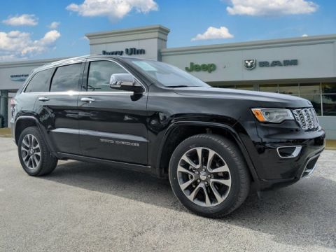 Certified Pre-Owned 2018 Jeep Grand Cherokee Overland